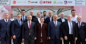 Bursa Valisi Yakup Canbolat 'Bursa  Textile Show Fuarı' açılışında