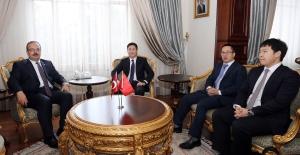 Çin Halk Cumhuriyeti İstanbul Başkonsolosu Cui Wei, Bursa Valiliğine ziyarette bulundu