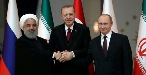 """Ruhani: """"İran'ın kesin iradesi Türkiye ile ilişkileri geliştirme yönündedir"""""""