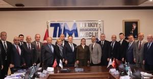 """Türkiye İhracatçılar Meclisi (TİM)  Başkanı Gülle; """"Hedefimiz dış ticaret fazlası veren Türkiye'dir"""""""