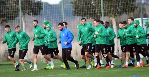 Bursaspor'un devre arası çalışmaları sıkı geçiyor