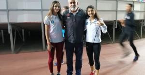 Büyükşehir Belediyespor sporcuları pistin tozunu attılar