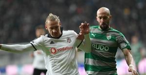 Bursaspor, Beşiktaş karşılaşmasından 2 - 0 mağlup döndü