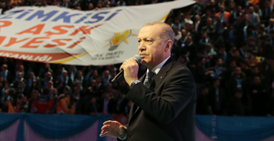 """Cumhurbaşkanı Erdoğan:  """"İstanbul'daki 10,5 milyon seçmenin yaklaşık yüzde 21'i AK Parti üyesidir"""""""