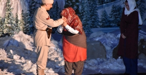 Soğuk Cennet 'Sarıkamış' Oyunu duygulu anlar yaşattı