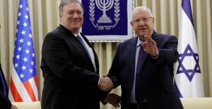 """ABD Dışişleri Bakanı Mike Pompeo: """"İsrail'in ABD'den iyi dostu yok"""""""