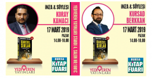 BURSA ARENA Yazarları Bursa 17. Kitap Fuarı'nda