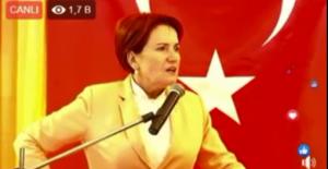 """Akşener: """"3 milyon AKP'li seçmenin de İmamoğlu'na yönelmesini sağlayacağız"""""""