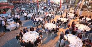 Büyükşehir'den dağ ilçelerine iftar ziyafetleri
