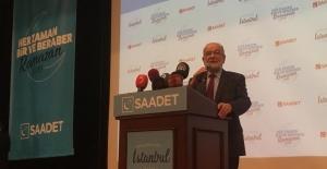 Ekrem İmamoğlu Saadet Partisi iftarına katıldı