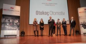 """Oto-Koç Otomotiv """"Türkiye'nin en iyi iş yeri"""" seçildi"""