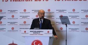 """Devlet Bahçeli: """"Şu anda dünyanın gizli gündemi İstanbul seçimidir"""""""