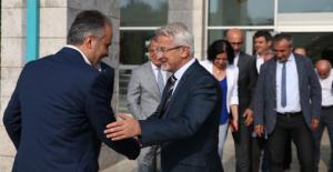 """İşte demokratik nezaket: """"Aktaş'tan Erdem'e 'Hayırlı olsun' ziyareti"""""""