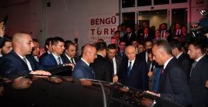 MHP Lideri Bahçeli Bengütürk TV'yi ziyaret etti
