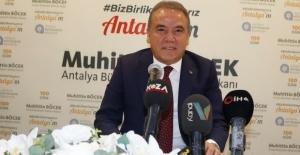 """Antalya Büyükşehir Belediye Başkanı Muhittin Böcek """"dobra"""" açıklamalar yaptı: """"Cumhurbaşkanı yanıltılmış"""""""