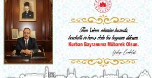 Bursa Valisi Yakup Canbolat'tan Kurban Bayramı Mesajı