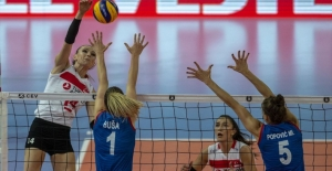 A Milli Kadın Voleybol Takımımız Avrupa ikincisi oldu