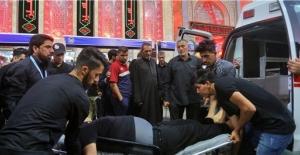 """Kerbela şehrindeki """"Aşura Günü"""" törenlerinde izdiham:  16 kişi hayatını kaybetti"""