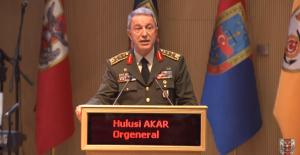 """Milli Savunma Bakanı Akar: """"Suriye'nin siyasi ve toprak bütünlüğüne saygılıyız"""""""