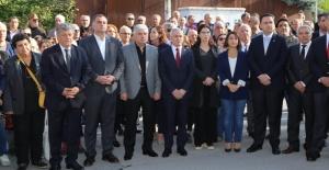 Cumhuriyet Şehidi Ahmet Taner Kışlalı, ölümünün 20. Yıl dönümünde törenlerle anıldı