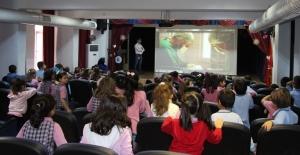 Nilüfer Okullarında sokak hayvanları için eğitim çalışması yapıldı