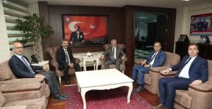 Başkan Erdem'den İl Emniyet Müdürü Aslan'a ziyaret