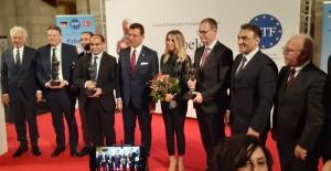 Başkan İmamoğlu'na Berlin'de Onur Ödülü