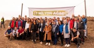 'Geleceğe Nefes' seferberliğine Bursagaz'dan 500 fidanla destek