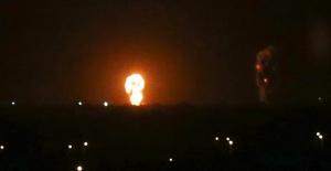 İsrail'den Gazze Şeridi'ndeki Hamas mevkilerine saldırı
