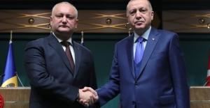 """Erdoğan: """"Moldova ile stratejik ortaklığımız, ülkelerimiz arasındaki dostluğun yansımasıdır"""""""