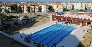 Mudanya Belediyesi, yüzme havuzunu kapattırdı