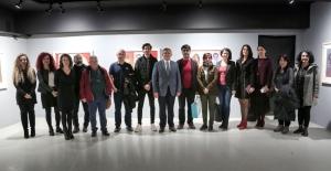 Pakistanlı ressam eserlerini Nilüfer'de sergiledi