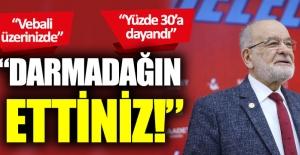 Temel Karamollaoğlu'ndan AKP'ye işsizlik tepkisi