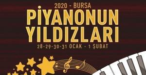 Uluslararası Bursa Piyano Festivali başlıyor