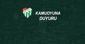Bursaspor Kulübü Derneği Olağan İdari ve Mali Genel Kurulu 29 Şubat'ta yapılacak