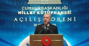 Cumhurbaşkanı Erdoğan, Cumhurbaşkanlığı Millet Kütüphanesi'nin açılışını gerçekleştirdi