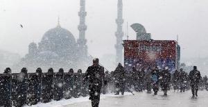 İstanbul'da yarın yoğun kar yağışı bekleniyor