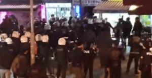 Kadıköy'de 'intihar' protestosuna polis müdahalesi!
