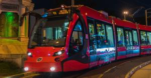 Türkiye'den dünyaya ilk tramvay ihracatı Bursa'dan..