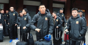 Çin'in Wuhan Zall takımı İstanbul'a gelmiş!