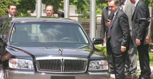 Erdoğan'ın limuzini 41 bin 500 TL'ye satıldı
