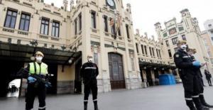 İspanya'da korkunç tablo: 24 saatte 832 kişi  hayatını kaybetti!