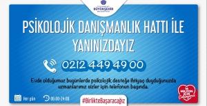 İstanbul Belediyesi'nden halka psikolojik destek