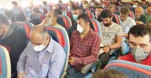 500 İşçi Kuveyt'ten dönüş yaptı ancak Giresun karıştı