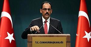 """Cumhurbaşkanlığı Sözcüsü Kalın: """"Süleyman Soylu görevine devam edecektir"""""""