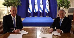 İsrail'de Netanyahu 18 ay daha başbakan oldu
