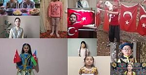 Kırım'dan Doğu Türkistan'a Türk Dünyası Çocuklarından 23 Nisan Mesajları