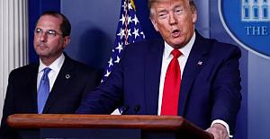 Koronavirüs ABD'de hükümet krizi çıkardı! Trump, Sağlık Bakanı Alex Azar'ı görevden alacak