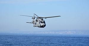 NATO'nun askeri helikopteri Yunanistan ve İtalya arasındaki İyon Denizi'nde kayboldu