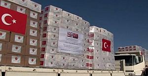 Türkiye, İngiltere'ye tıbbi malzeme yardımı gönderdi